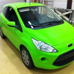 Ford Ka Toxic Green by WrapR.nl09