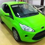 Ford Ka Toxic Green by WrapR.nl09